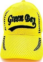 قبعات البيسبول غرين باي ميش مطرزة باللون الأصفر