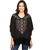 Roper - 0612 Solid Sweater Jersey Poncho