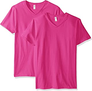Best hot pink v neck shirt Reviews