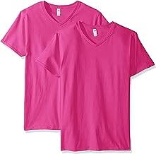 Best pink v neck t shirt mens Reviews
