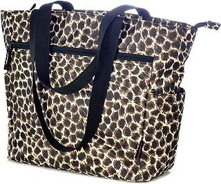 Women's Ladies X-Press Travel Shoulder Tote, Leopard