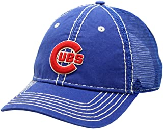 Chicago Cubs Snapback Hand Me Down Trucker Mesh Blue
