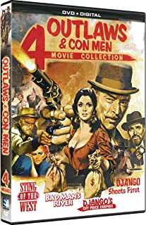 Outlaws and Con Men - 4 Film Collection