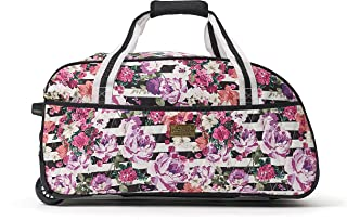 Macbeth Out of Office 21.5in Rolling Duffel Bag, White