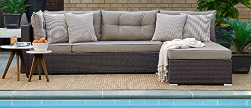 Relax A Lounger Pacifica Outdoor Convertible Sofa