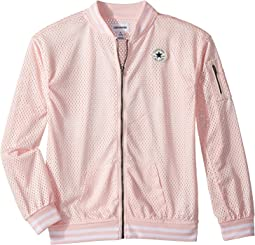 Converse Kids Mesh Bomber (Big Kids)