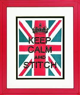 Dimensions Needlecrafts Stamped Cross Stitch, Keep Calm