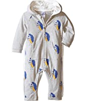 Little Marc Jacobs - All Over Printed and Hooded Bodysuit (Infant)
