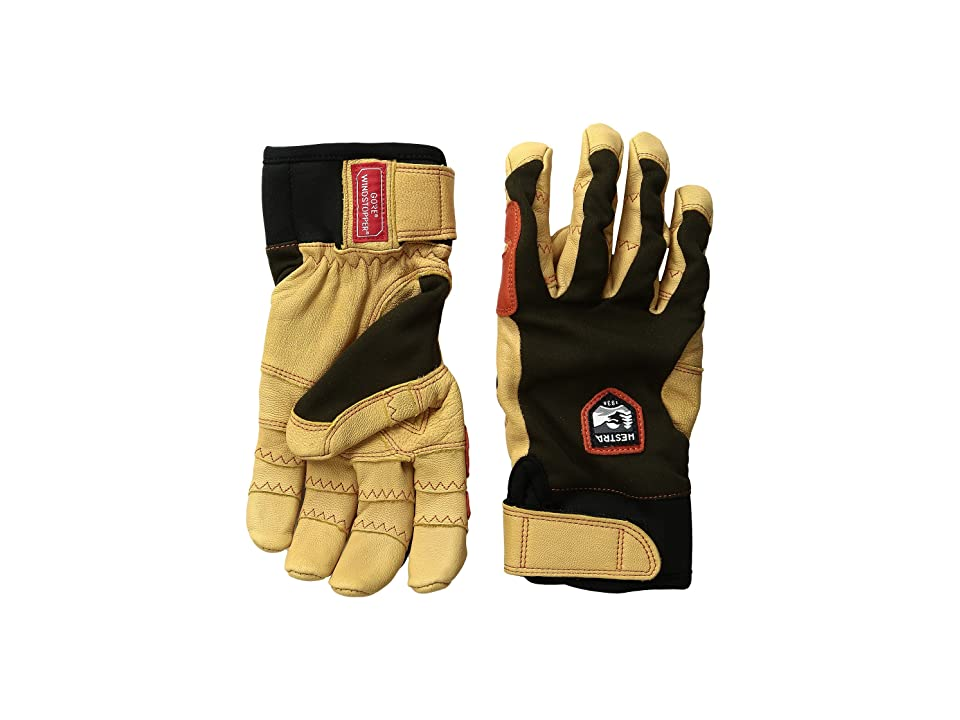 Hestra Ergo Grip Active (Forest/Tan) Ski Gloves