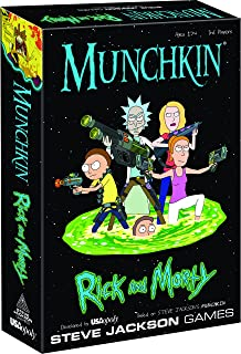 Mixed Current Edition Munchkin Rick & Morty Edition Board Game