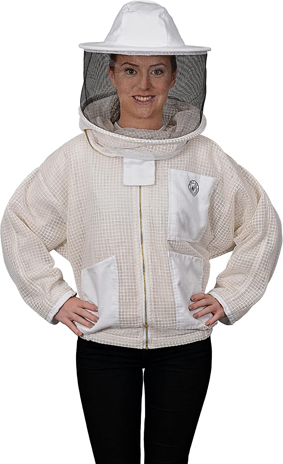 Humble Bee 320XS Aerated Beekeeping Jacket with Round Veil (X Small)