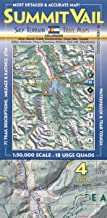 Summit, Vail & Holy Cross Trail Map