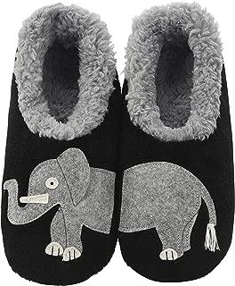 Womens Classic Splitz Applique Slipper Socks | Womens...