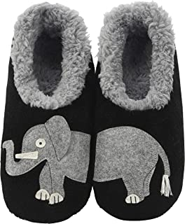 Womens Classic Splitz Applique Slipper Socks | Womens...