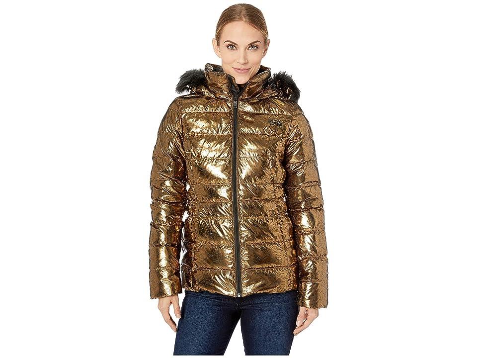The North Face Gotham Jacket II (Metallic Copper) Women