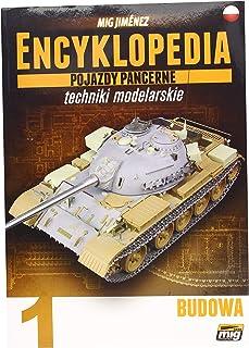 Ammo MIG-6200 Encyclopedia of Armour Modelling Techniques Vol. 1-Construction Polish, Multicolour