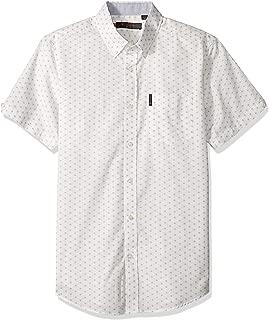 Ben Sherman Men's Ss Starburst Print Shirt