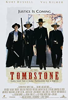 Old Tin Sign Movie Posters Tombstone Movie Poster Vertical