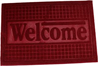 Royalford Rubber Mat 40*36Cm - Home, Shop Outdoor Rubber Entrance Mats Anti Fatigue None Slip Indoor Safety Flooring Drain...