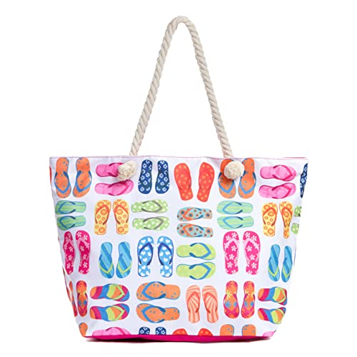 b2209a581 Leisureland Large Beach Tote Bag