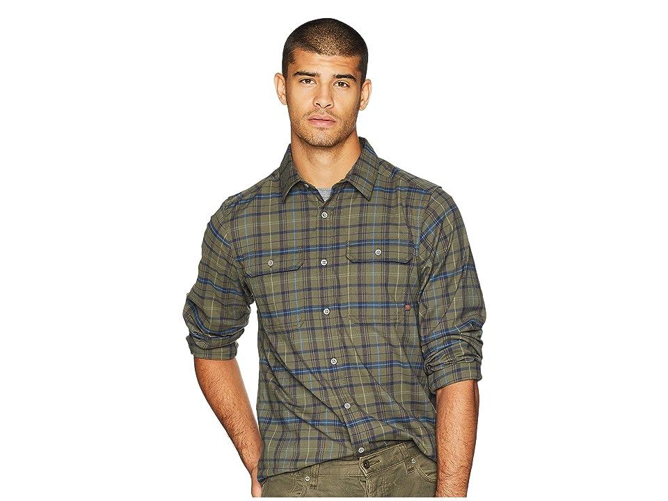 Mountain Hardwear Stretchstone Long Sleeve Shirt (Peatmoss) Men