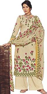 Surkhab Impressions Women's Pure Cotton Printed Unstitched Salwar Suit