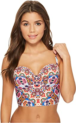 Kenneth Cole Casablanca Underwire Bustier Top
