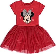 Minnie Mouse Girls' Tutu Dress with Tulle Skirt - Disney