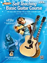Alfred's Self-Teaching Basic Guitar Course: The new, easy and fun way to teach yourself to play, Book, CD & DVD