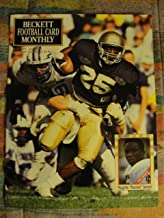 Beckett Football Card Monthly (price guide) magazine, April 1991 issue 13 Raghib