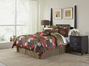 Pointehaven 8-Piece 100-Percent Cotton Luxury Bedding Ensemble, Marrakesh, Cal King
