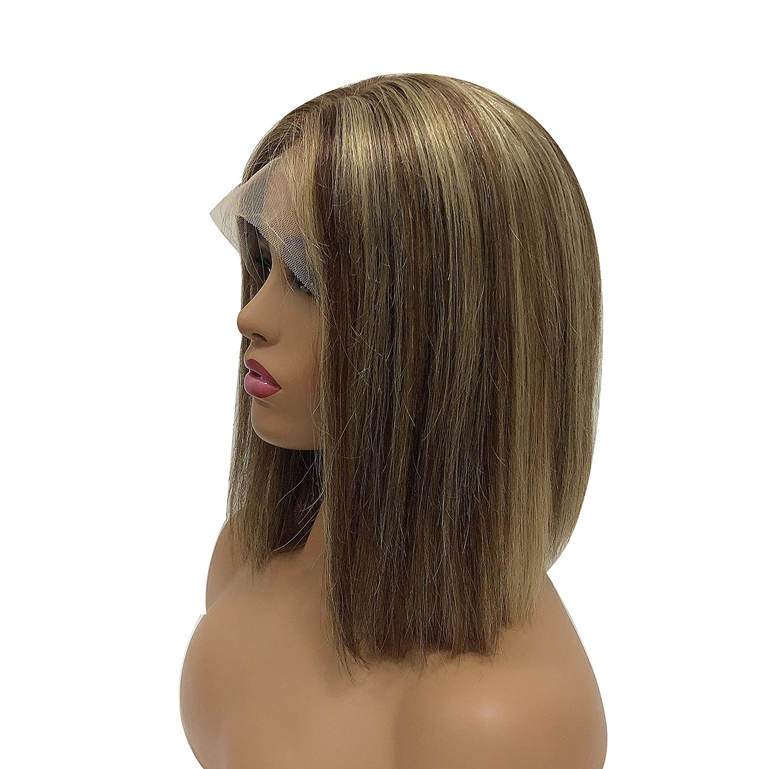 Human Hair Short Bob wigs free shipping 13x4 Wigs Lace Front Pre Ranking TOP7 Plucked Bleac