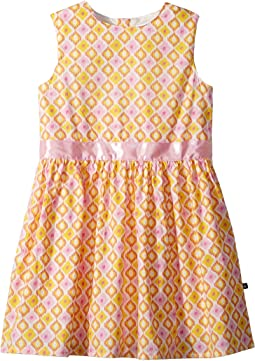 Toobydoo - Pink and Yellow Garden Party Dress (Toddler/Little Kids/Big Kids)