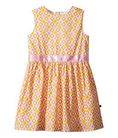 Toobydoo Pink and Yellow Garden Party Dress (Toddler/Little Kids/Big Kids) (Pink/Yellow) Girl