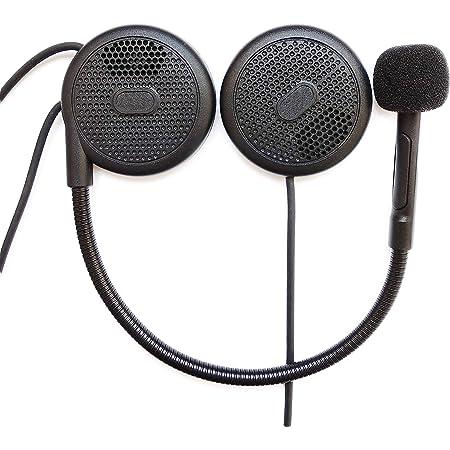 ニコマク バイク インカム イヤホン Bluetooth 4.1 薄型 ヘルメット ヘッドセット L1M ブルートゥース 高音質 技適認証取得済 ハンズフリー オートバイ スピーカー イヤホンマイク マイク付き インカム用 音楽/音声コントロール/通話
