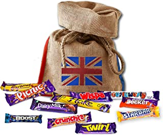 Cadbury's chocolate 11 full size British chocolates | English Candy Best chocolates | British Gifts UK Candy Bars (Standard)