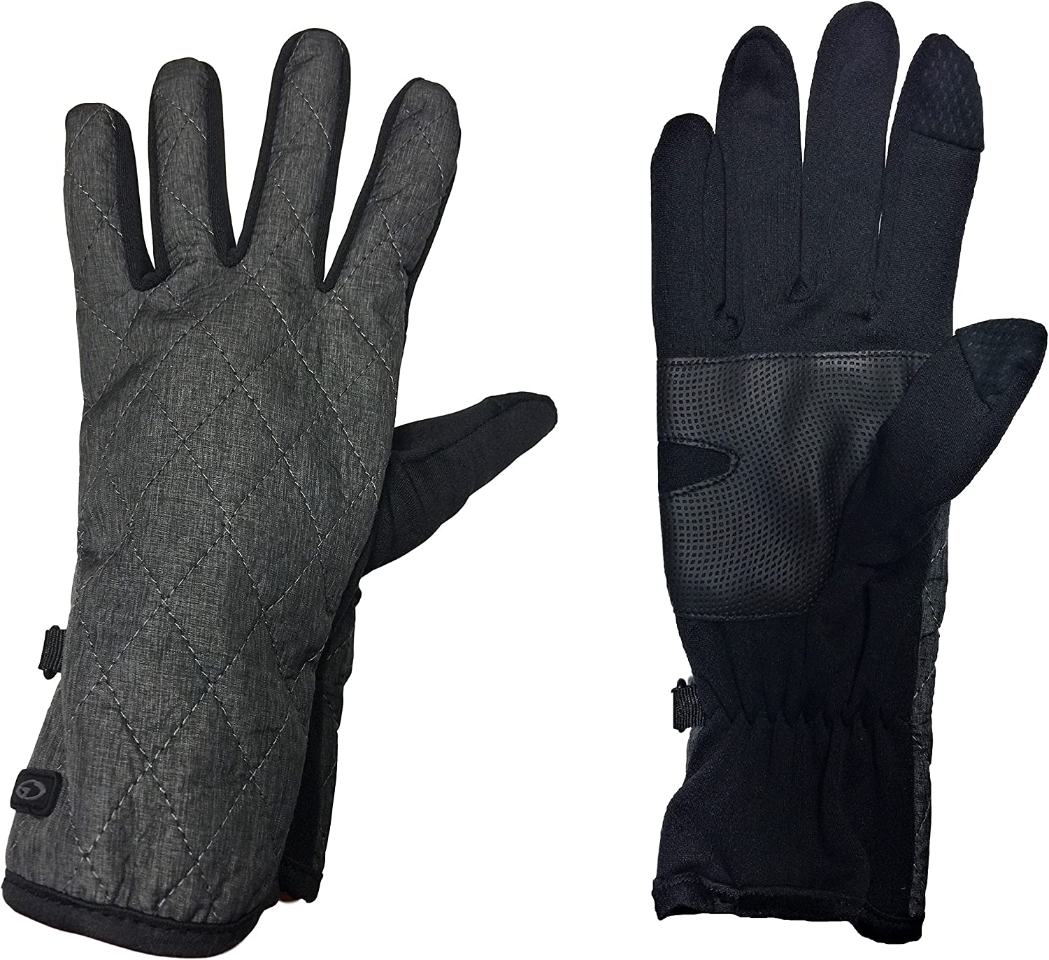 C9 Champion Women's Quilted Softshell Touchscreen Friendly Gloves