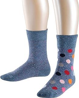 Esprit, Colourful Dots Calcetines (Pack de 2) para Niñas