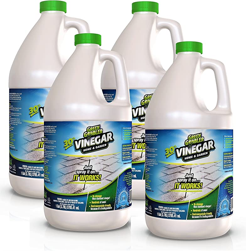 Green Gobbler Ultimate Vinegar Home Garden 30 Vinegar Concentrate Hundreds Of Uses 4 Gallon Case