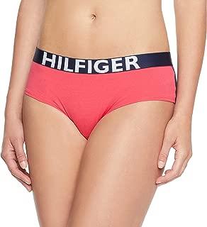 Tommy Hilfiger Women's Bold Cotton Bikini, Teaberry/Navy Blazer
