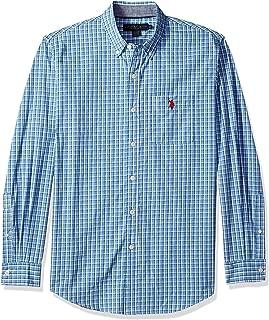 Men's Button Down Long Sleeve Sport Shirt