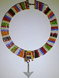 Maasai Girl's Pattern Necklace