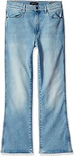 Buffalo David Bitton Womens BL14326 Inka Crop Flare Jean Jeans - Blue