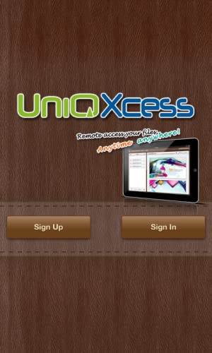 『UniQXcess - Remote Access』の2枚目の画像