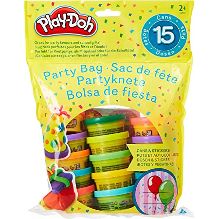 Play-Doh Bustina di Vasetti, Multicolore, 15 Vasetti, 18367EU4