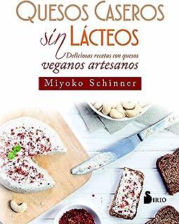 Quesos caseros sin lácteos (Spanish Edition)