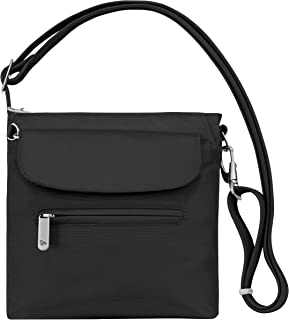 Anti-Theft Classic Mini Shoulder Bag, Black, One Size