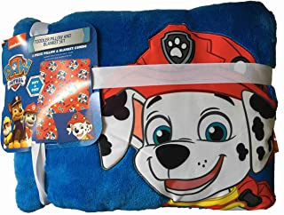 The Fun House Marshall Pup Toddler Pillow and Blanket Set