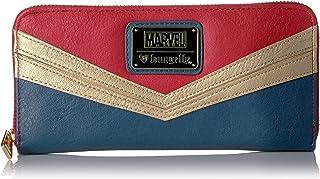 Loungefly womens MVWA0008 Marvel Captain Marvel Zip Around Wallet