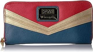 Loungefly Marvel Captain Marvel Zip Around Wallet